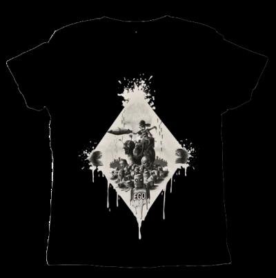 Märtyrer der Gerechtigkeit Unisex T-shirt Sinntraeger Art Steve Bauer leipzig