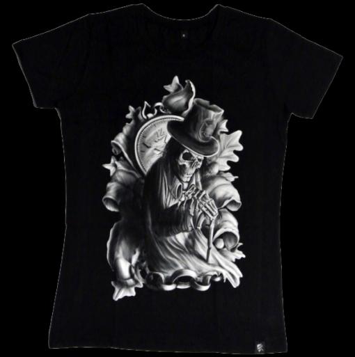 Modern Day Gentlemen Girlie t-shirt sinntraeger art steve bauer leipzig