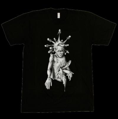 """T-shirt """"Sinntraeger"""" Art Steve Bauer leipzig"""