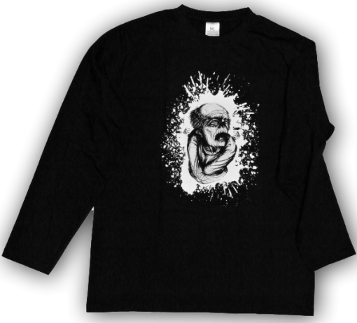 Zombie Longsleeve T-shirt Sinntraeger Art Steve Bauer leipzig